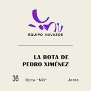 La Bota de Pedro Ximenez  n 36