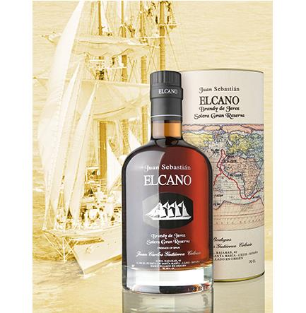 Brandy Juan Sebastian EL CANO Solera Gran Reserva