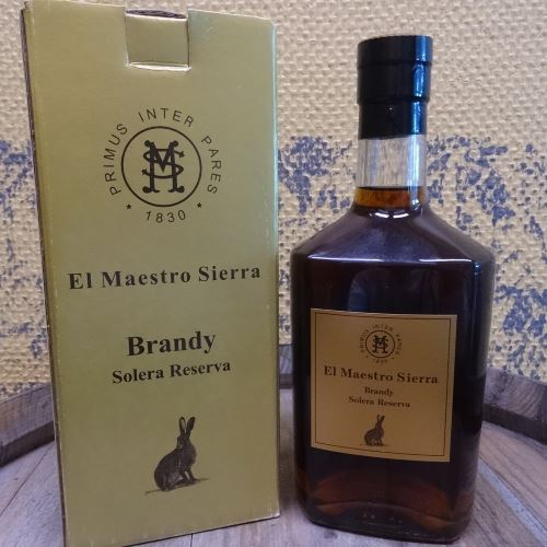 Brandy Solera Reserva El Maestro Sierra
