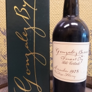 Jahrgangssherry Palo Cortado 1978 Gonzales Byas