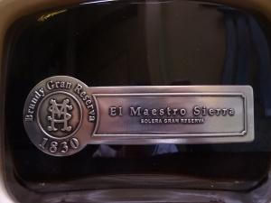 Brandy Solera Gran Reserva El Maestro Sierra